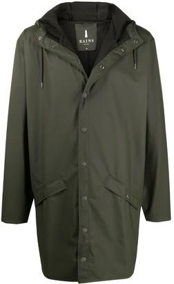 Rains Long Hooded Jacket