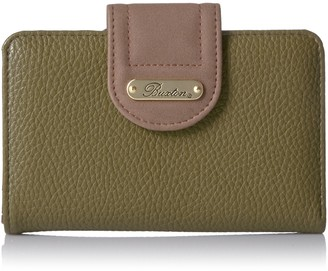 Buxton Touch of Suede Medium Tab Wallet