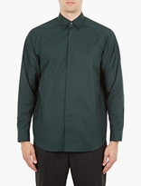 Marni Green Raglan Sleeve Shirt