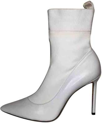 Jimmy Choo \N White Leather Ankle boots