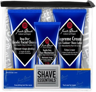 Jack Black Shave Essentials 3-Piece Set