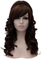 Qiyun Long Curly Princess Haircut Women Wave Cosplay Charm Party Wigs