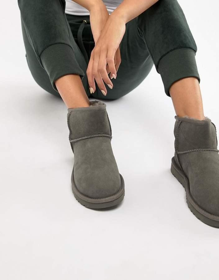 af18f813e3d Classic Mini II Grey Boots