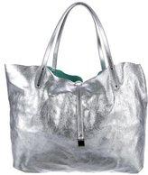 Tiffany & Co. Metallic Reversible Tote