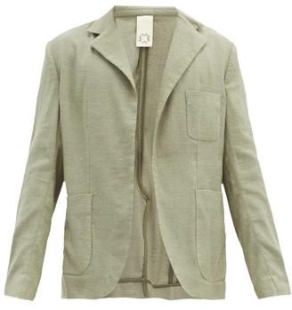 Marrakshi Life - Patch-pocket Cotton-blend Jacket - Green