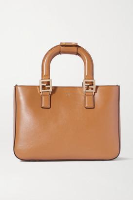 Fendi Leather Tote - Brown
