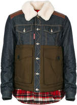 DSQUARED2 padded lumberjack jacket