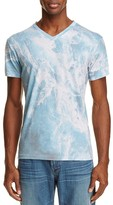 Sol Angeles Whirlpool Print V-Neck Tee