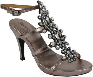 J. Renee High Ankle Strap Sandals - Evadine