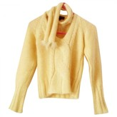 Roberto Cavalli Yellow Wool Knitwear for Women
