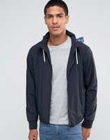 Celio Lightweight Jacket with Zip Away Printed Hood