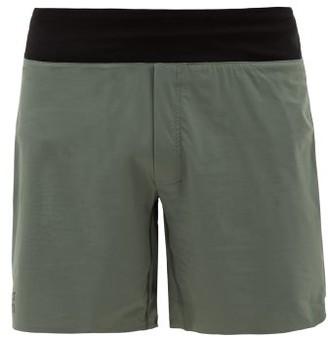 On - Lightweight Stretch-technical Jersey Shorts - Mens - Green