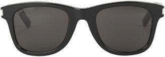 Saint Laurent Flat Top Embellished Sunglasses