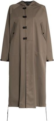 Hyke Hooded Parka Coat