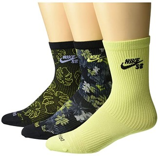 Nike SB Colorful Twist Everyday Max Lightweight Socks (Multicolor) Low Cut Socks Shoes