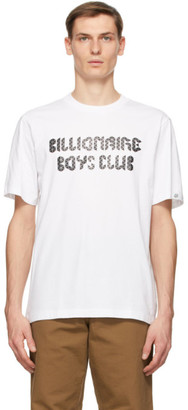 Billionaire Boys Club White Magnetic Logo T-Shirt