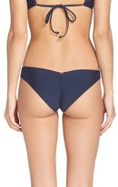 Pilyq Women's Ruched Bikini Bottoms