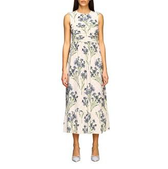 RED Valentino Dress With Cornflower Print