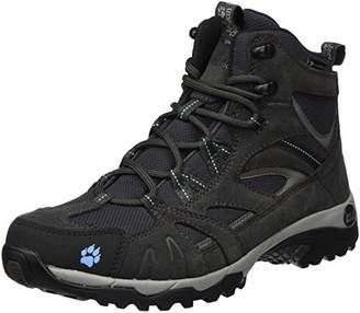 Jack Wolfskin Vojo Hike Mid Texapore Women Wasserdicht High Rise Boots, Grey (Light Sky 1132)