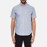 Lacoste Short Sleeve Casual Shirt Deauville Blue