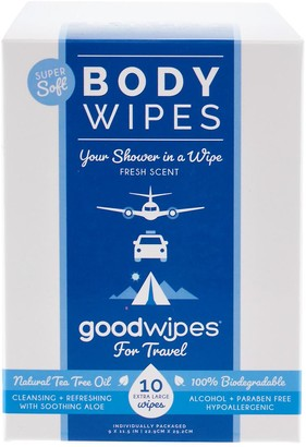 Container Store Goodwipes Deodorizing Body Wipes Pkg/10