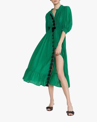 Cynthia Rowley Laila Tassel Midi Dress