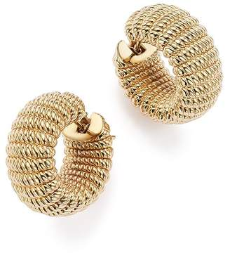 Roberto Coin 18K Yellow Gold Chic and Shine Hoop Earrings - 100% Exclusive