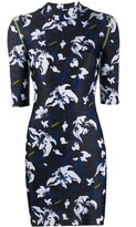 Marcelo Burlon County of Milan short flower print dress