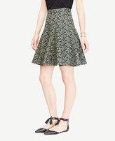 Ann Taylor Floral Eyelet Full Skirt
