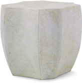 Century Furniture Palma Cast Stone End Table