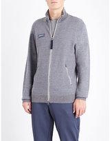 Adidas Spezials Lawton Waffle-knit Wool Cardigan