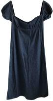 Walter Wild And Lethal Trash By Van Beirendonck Blue Cotton Dress for Women Vintage