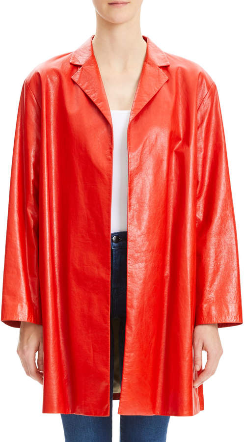 837610411f Theory Women's Leather Jackets - ShopStyle