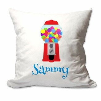 Zoomie Kids Ritter Gumball Machine Throw Pillow Cover Customize: Yes