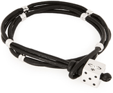 Vivienne Westwood Hendrix Cord Bracelet Silver
