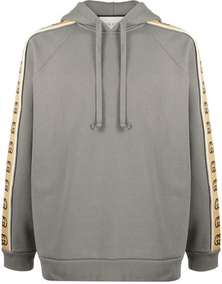 Gucci Interlocking G sleeve hoodie