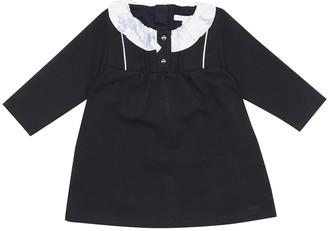 Chloé Kids Baby cotton-blend dress