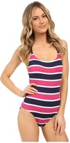 Tommy Bahama Nautical Low Back Cup One-Piece