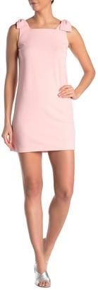 Love...Ady Bow Shoulder Shift Dress