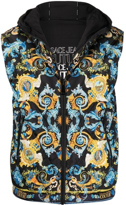 Versace Jeans Couture Reversible Feather Down Gilet