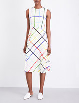 Mary Katrantzou Osmond stretch-crepe midi dress