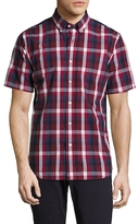 Jack Spade Caufield Exploded Blocked Plaid Sportshirt