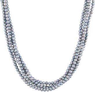 Splendid Pearls 5-6Mm Freshwater Pearl Endless Necklace