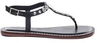 Bernardo Mojo Black Studded Sandal