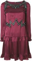 Frankie Morello studded ruffled dress