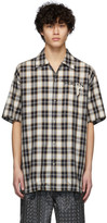 BEIGE Doublet Black and Key Person Short Sleeve Shirt