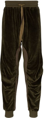 Haider Ackermann Moonshape cotton-blend track pants