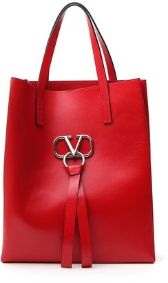 Valentino V Ring Tote Bag