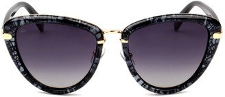 Privé Revaux The Monet Polarized Cat-Eye Sunglasses
