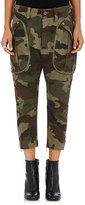 Faith Connexion Women's Camouflage-Print Chevron-Weave Cargo Pants